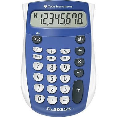 Texas Instruments® TI-503SV 8-Digit Display Calculator