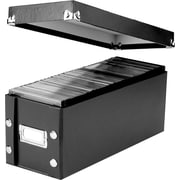 Ideastream Snap-N-Store™ Disc Storage Boxes, Black