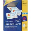 Avery® Inkjet Business Cards, White, 2in. x 3 1/2in., 1,000/Cards