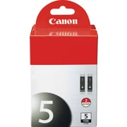 Canon PGI-5 Black Ink Cartridges (0628B009), 2/Pack