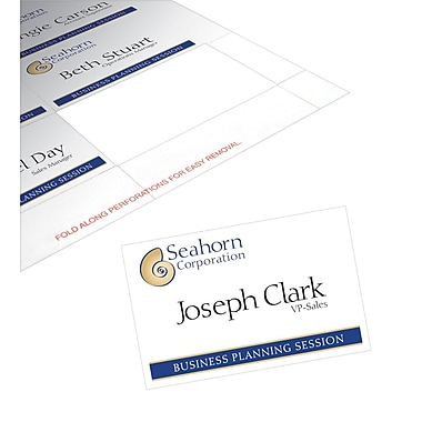 Avery® Name Badge Insert Sheets, 2 1/4in. x 3 1/2in.
