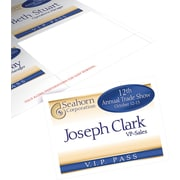 Avery® Name Badge Insert Sheets, 3in. x 4in.