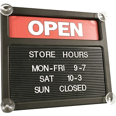 Tabbee Open/Closed Sign Kit
