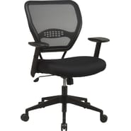 Office Star™ SPACE® Air Grid™ Deluxe Mesh Task Chair, Black