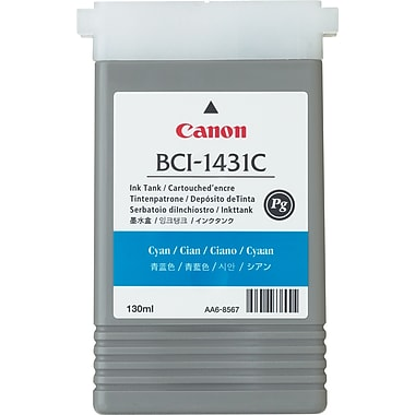 Canon BCI-1431C Cyan Ink Cartridge