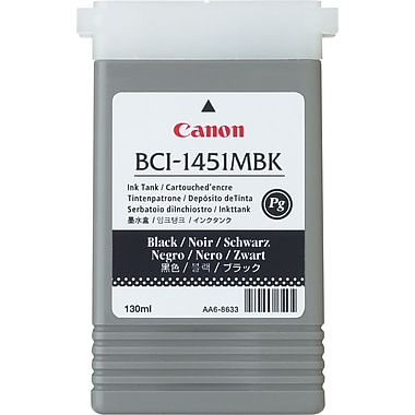 Canon BCI-1451MBK Matte Black Ink Cartridge