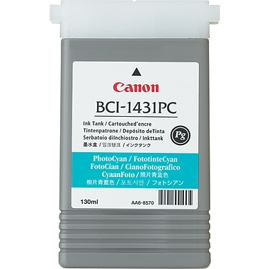 Canon BCI-1431PC-PG Photo Cyan Ink Cartridge (8973A001)