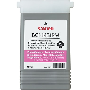Canon BCI-1431BK-PG Black Ink Cartridge (8963A001)