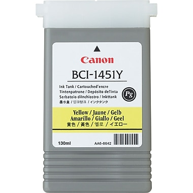 Canon BCI-1451Y Yellow Ink Cartridge (0173B001)