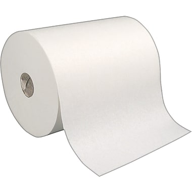 enMotion Hardwound Paper Towel Rolls, White, 1-Ply, 6 Rolls/Case