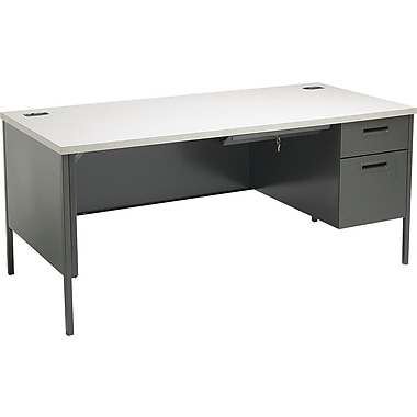 HON Metro Classic 66in. Right Single Pedestal Desk