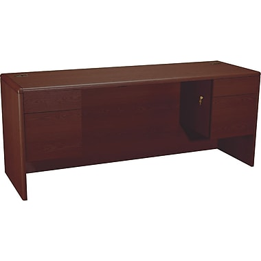 HON 10700 Series 72in. Credenza with Kneespace, Mahogany