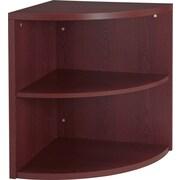 HON® 10500 Series End Cap Bookshelf Organizer, Mahogany