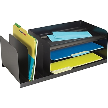 SteelMaster® Combination Organizer/ Legal/ 6 Compartments