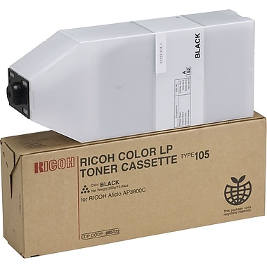 Ricoh 885372 Black Toner Cartridge