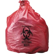 Infectious Waste Bags, 3 gal.