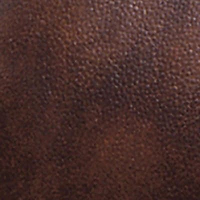 Office Star Deluxe Leather Guest Chair, Brown