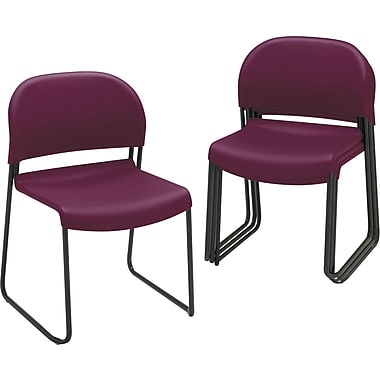 HON GuestStacker® Chair, Mullberry