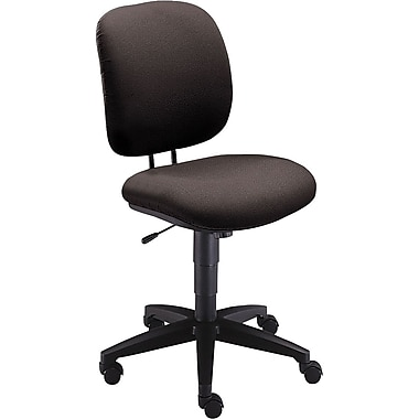 HON Comfortask® HON® Comfortask® Fabric Swivel/Tilt Low-Back Task Chair, Dark Gray