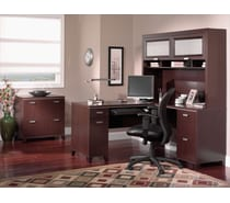 bush tuxedo collection mocha cherry bush home office furniture