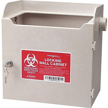 Unimed Sharps Horizontal Entry Locking Cabinet