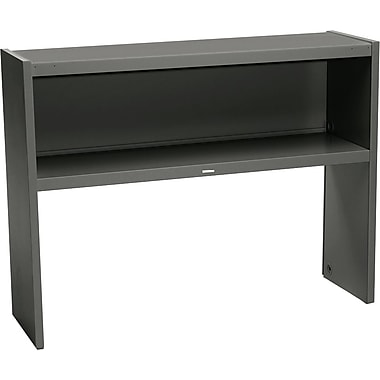HON 48in. Stack-On Open Shelf Units, Charcoal