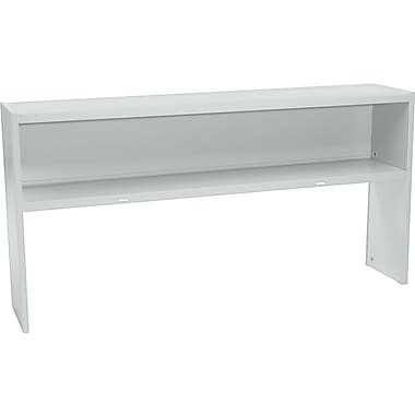 HON 72in. Stack-On Open Shelf Units, Gray