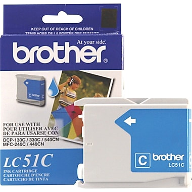 Brother LC51C Cyan Ink Cartridge