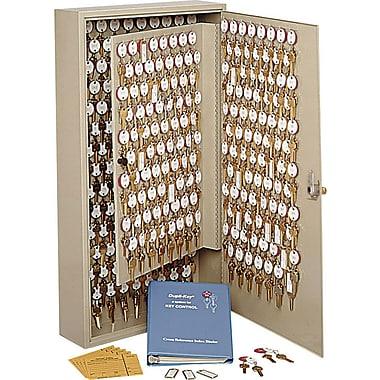 MMF Industries™ STEELMASTER® Dupli-Key® Two-Tag Cabinet, Sand, 240 Key Capacity, 20 1/8