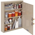MMF Industries™ Dual Locking Supply Cabinet