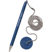 MMF Industries™ Secure-a-Pen®, Blue Barrel/Blue Ink