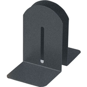 "MMF Industries™ 7"" High Black Granite Fashion Bookends"
