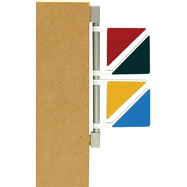 Unimed Exam Room Triangular Signal Flags, Primary Colors, 4 Flags