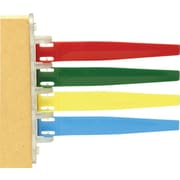Unimed Exam Room Standard Signal Flags, Primary Colors, 4 Flags