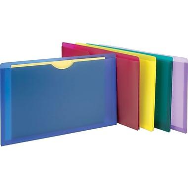 Staples® - Pochettes de classement à la verticale, assortis, format lettre