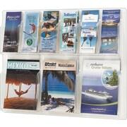 Safco Reveal Displays, 6 Pamphlet, 3 Magazine