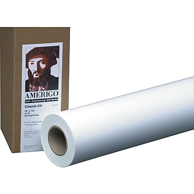 PM Company Amerigo™ Copy-20, 36in. x 500', 2 Rolls