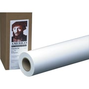 "PM Company Amerigo™ Wide Format, Copy-20lb, 36"" x 500', 3"" Core, White, 2 Rolls"