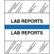 Tabbies® Medical Chart Index Divider Sheet Tabs, Lab Reports, Lt. Blue