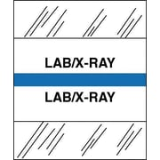 Tabbies® Medical Chart Index Divider Sheet Tabs, Lab/X-Ray, Lt. Blue