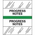 Tabbies® Medical Chart Index Divider Sheet Tabs, Progress Notes, Lt.Green