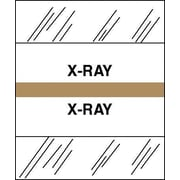 Tabbies® Medical Chart Index Divider Sheet Tabs, X-Ray, Brown