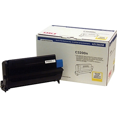 Okidata 42126658 Yellow Drum Cartridge
