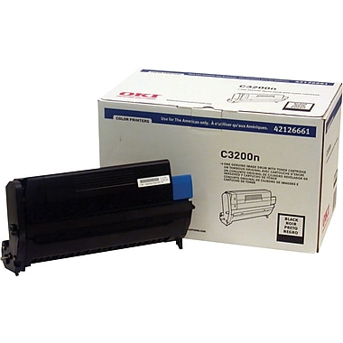 Okidata 42126661 Black Drum Cartridge
