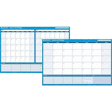 AT-A-GLANCE® Recycled 30/60 Day Undated Horizontal Erasable Wall Planner