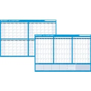 AT-A-GLANCE® Recycled 90/120-Day Horizontal Erasable Wall Planner