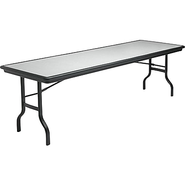 Iceberg 8' Indestruc-Tables™ Folding Table, Granite