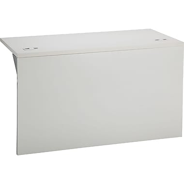 HON 38000 Series 48in. x 24in. Bridge, Light Gray/Light Gray
