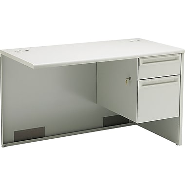 HON 38000 Series Right Return, Light Gray/Light Gray