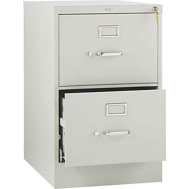HON 510 Series 2-Drawer Vertical File Cabinet, 25